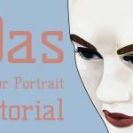Vector Portrait mit Illustrator erstellen