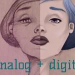 wie du analogen Pfiff in digitale Zeichnungen bekommst – Zeichnen mit Photoshop