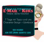 Mein Charakter-Design- Email-Kurs