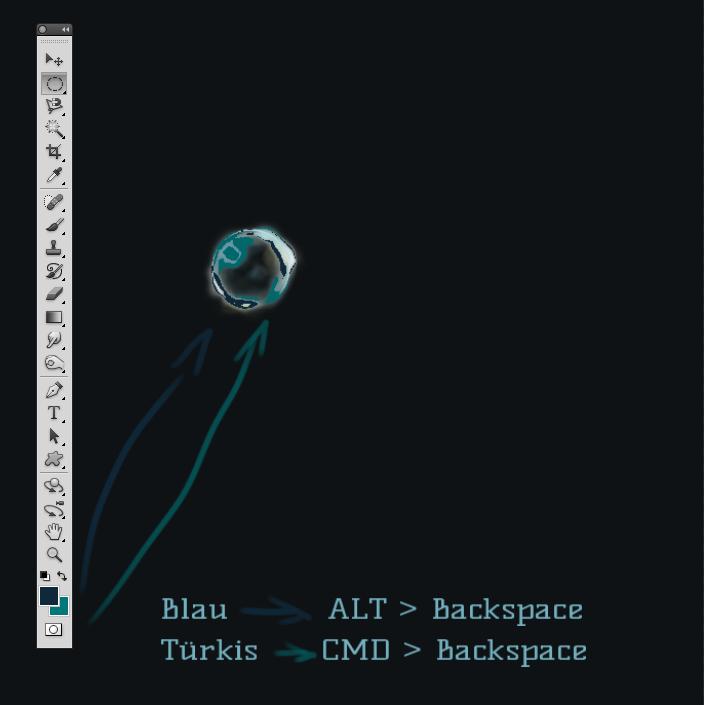 alt + backspace