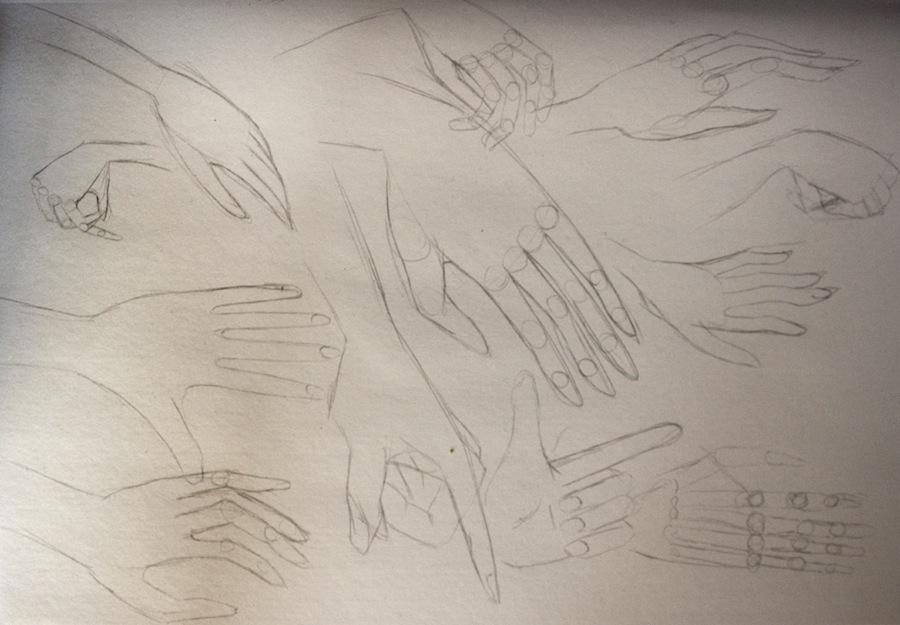 Hand studie