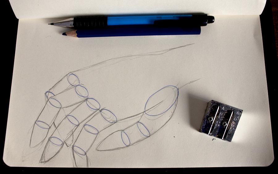 Hande zeichnen teil2