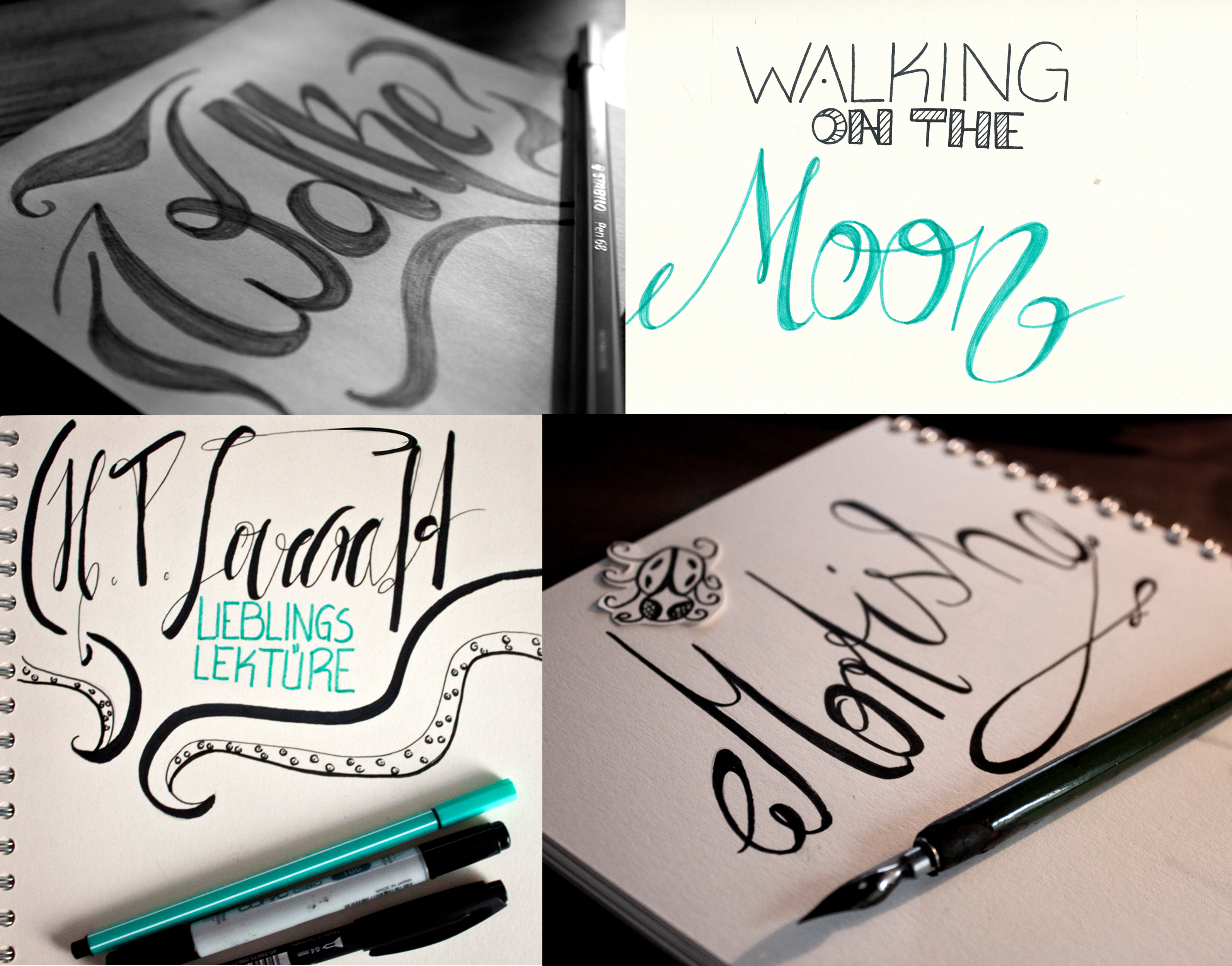 Lettering August