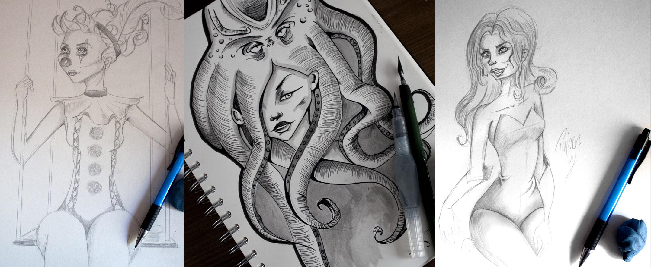 Zeichnung august