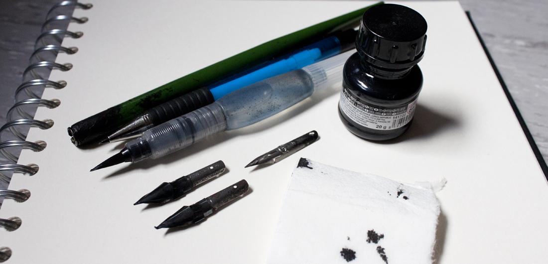 inktober-material