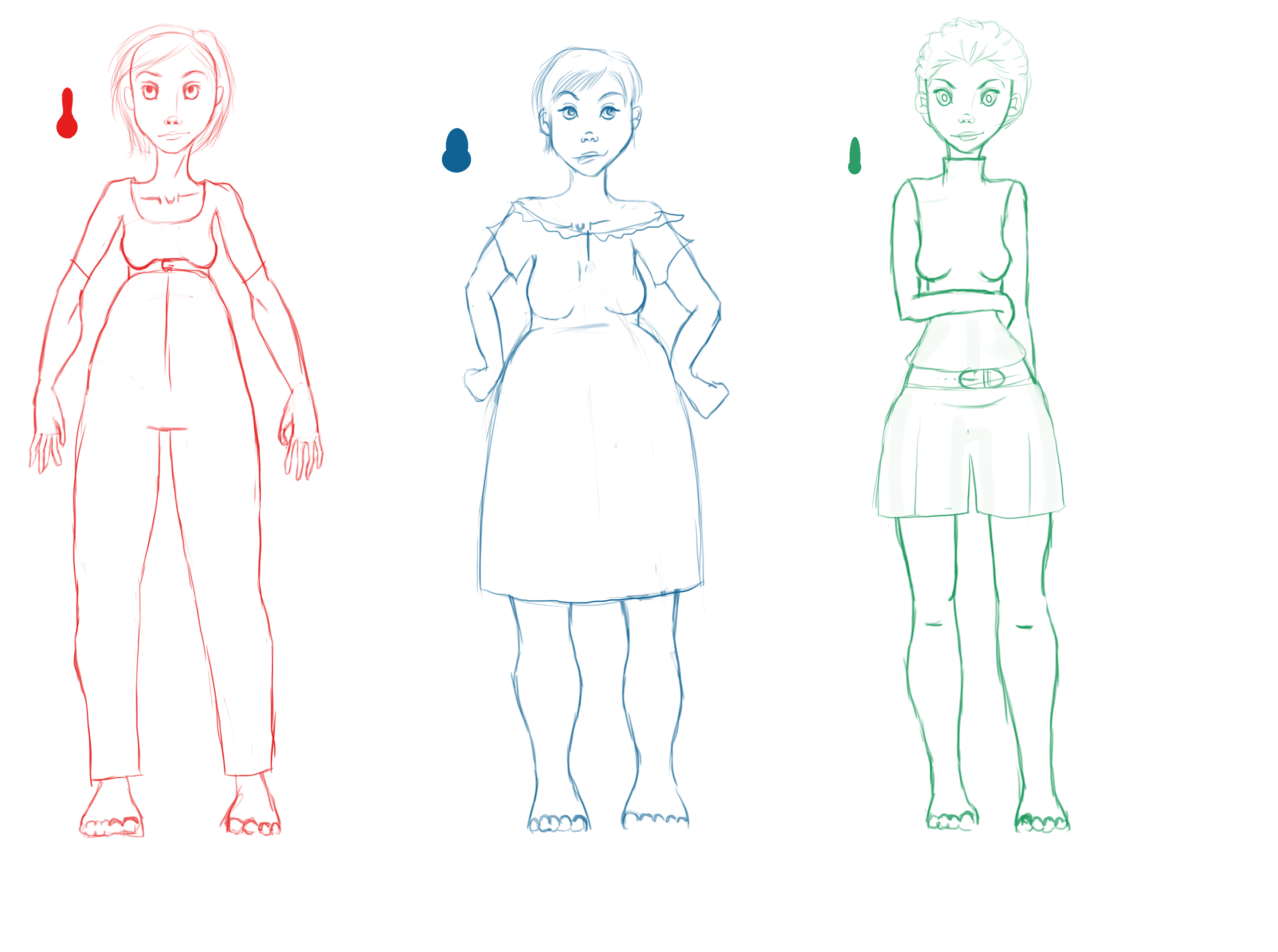 verschiedene weibliche k rpertypen zeichnen so zeichne ich teil 2 zeichne und gestalte. Black Bedroom Furniture Sets. Home Design Ideas