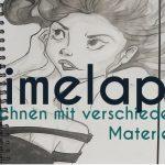 Zeichnenvideo – Zeichnen mit Bleistift, Tusche und Tuschestift
