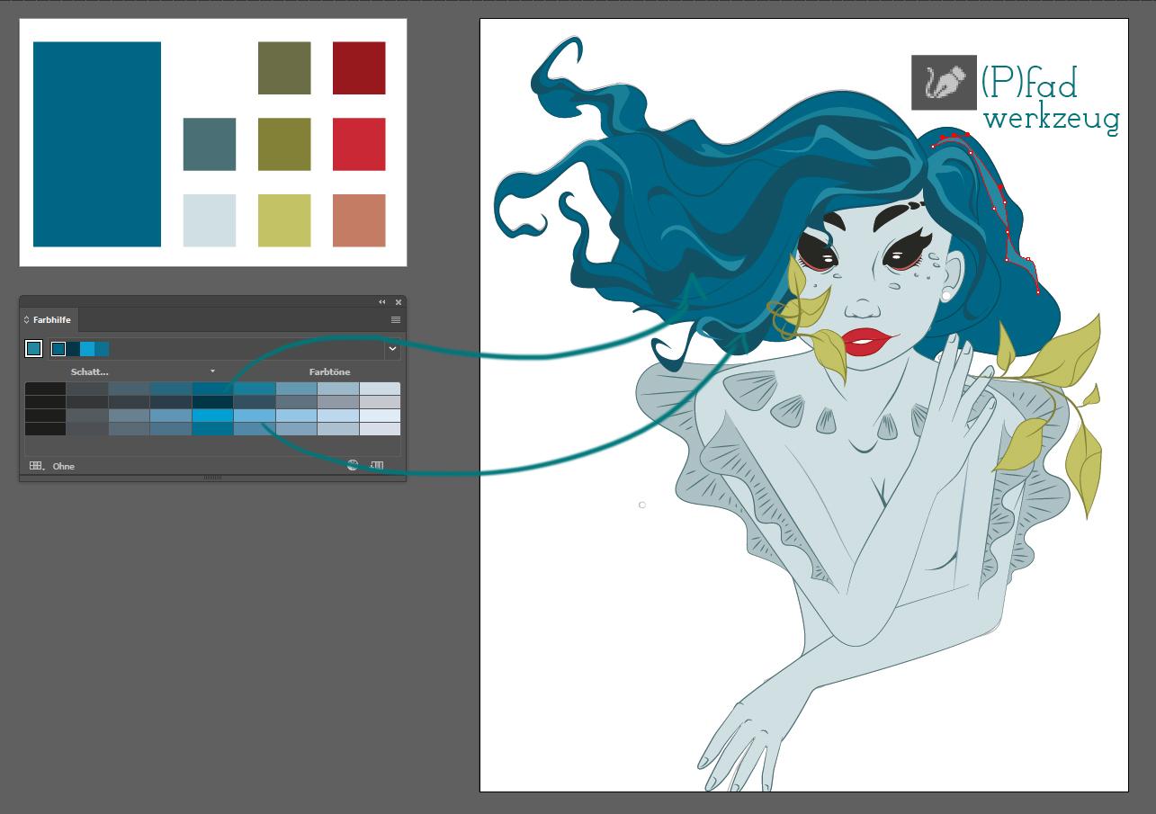 Vektorgrafiken colorieren 4