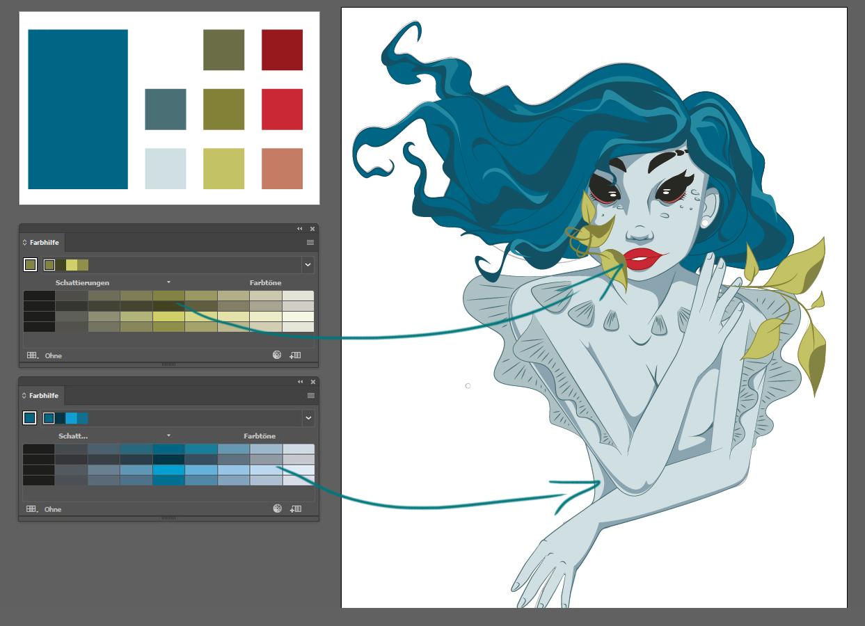 Vektorgrafiken colorieren 5