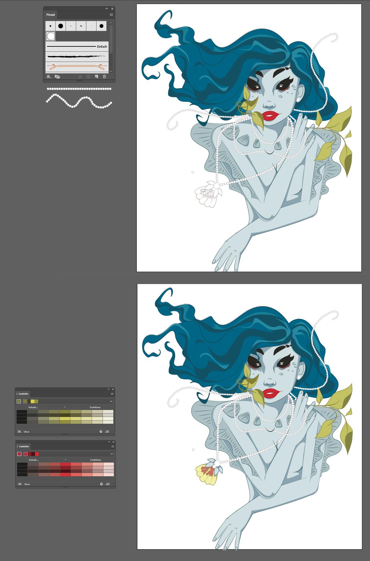 Vektorgrafiken colorieren 6