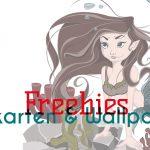 Freebie Meerjungfrauen Set