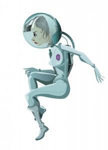 Astronaut_postkarte