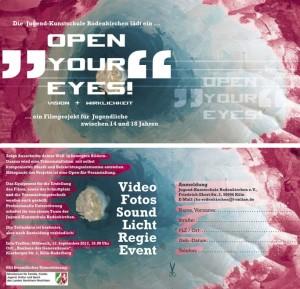 Flyer OpenYourEyes02 klein