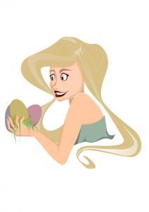 Osternpostkarte